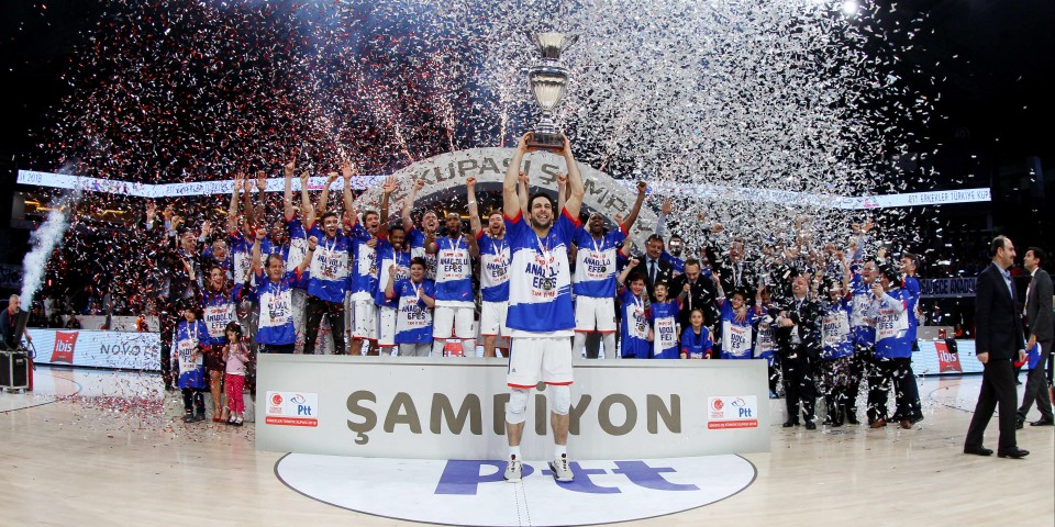 Turkey Cup is Anadolu Efes's for the 11th Time…