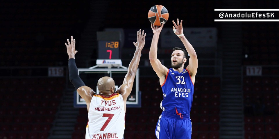 Winning start to the second half in the Euroleague: 84-73