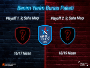Turkish Airlines Euroleague Play Off Maçları İçin #BenimYerimBurası Bilet Paketi...