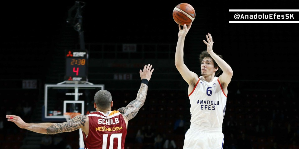 First step from Anadolu Efes: 95-85