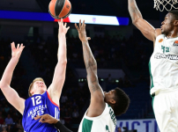 Euroleague : Anadolu Efes - Panathinaikos Superfoods: 81-82
