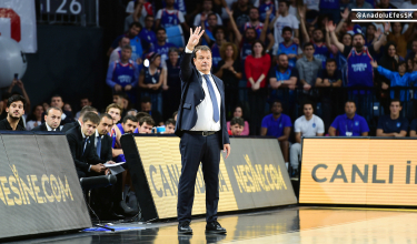 "Ergin Ataman: ""It is tough to win a match scoring 64 points…"""