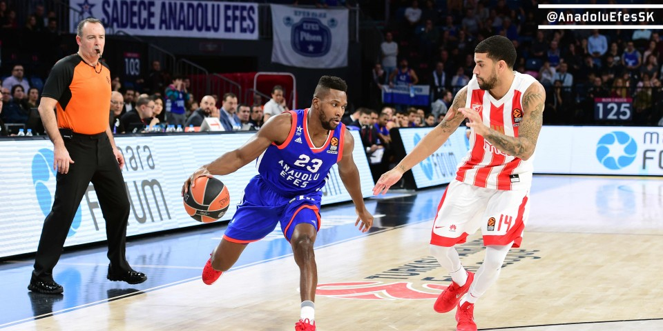 Anadolu Efes Won The Return Game Against Red Star MTS: 104-95