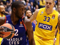 Euroleague : Maccabi Fox Tel Aviv - Anadolu Efes