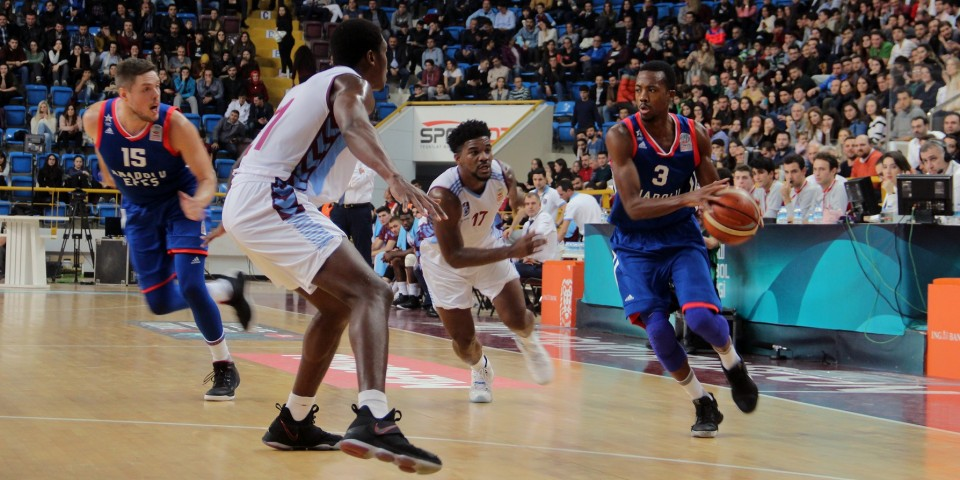 We won in the overtime at the Trabzon away game: 96-89
