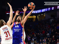 Euroleague : Anadolu Efes - Olympiacos: 58-61