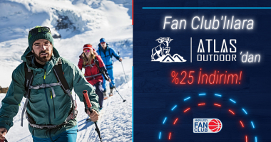 Fan Club'lılara Atlas Outdoor'dan %25 indirim!